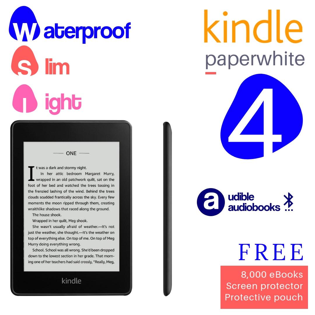 Buy Amazon Kindle Paperwhite 4 (2019 Waterproof 8gb) and